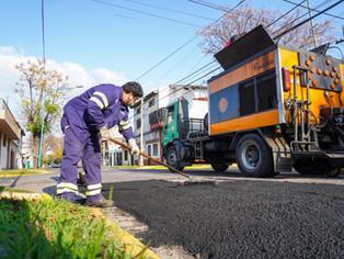Con fondos nacionales avanzan obras en Vicente López