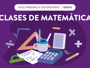 Vicente López:clases gratuita de matemática