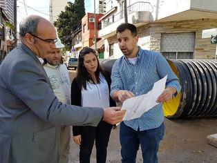 En plena campaña electoral la diputada Barbieri se muestra activa