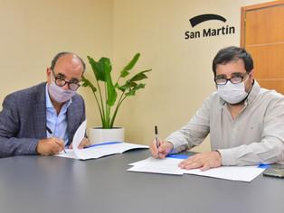 El municipio San Martín y la Universidad local amplían el horizonte académico y laboral