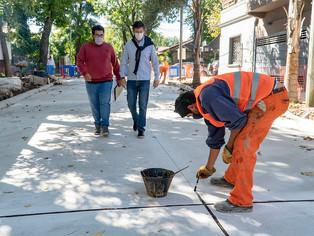 San Isidro: por obras de pavimentación cerrado al tránsito