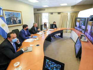 Confianza internacional: el Banco de Desarrollo financia la Tarjeta Alimentar