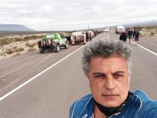 El sanisidrense Mastantuono debutó y salió tercero en el en el Rally más complejo de Sudamérica
