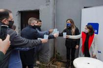 Tras el destrato de Macri y Vidal, a más de 8.000 vecinos les llegó el agua potable