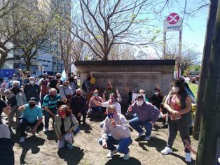 Actos en el Distribuidor Néstor Kirchner y en la Quinta de Olivos