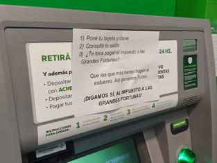 """San Martín:intensa campaña a favor del """"impuesto a las grandes fortunas"""""""