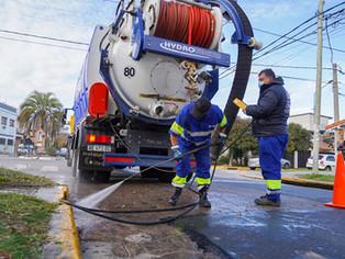 Vicente López: a mil con limpieza de sumideros, miserables con barrido de calles