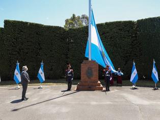 Fernández encabezó verdadero banderazo nacional por la soberanía usurpada por piratas ingleses