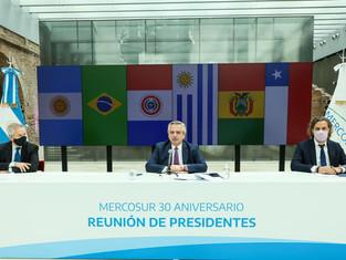 En diputados recuerdan los 30 años de la creación del Mercosur