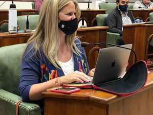 """HCD de San Isidro aprobó """"Jornada Carolina Aló""""  y bicisenda en Paraná"""