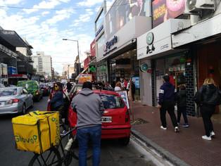 Por efecto COVID y al caerse los Shopping: San Martín embellece todos los Centros Comerciales a Ciel