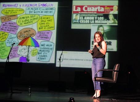 San Martín marca la diferencia: aboga por la paz de género
