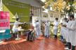 El PAMI, junto al municipio, llegó al hospital de Islas 'Do Porto' con vacuna en mano