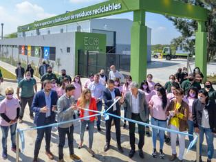 San Fernando inauguró la primera Planta de Reciclaje Municipal de toda la región norte