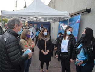 COVID en San Fernando: amplia acogida al plan de vacunación, 60% con una dosis