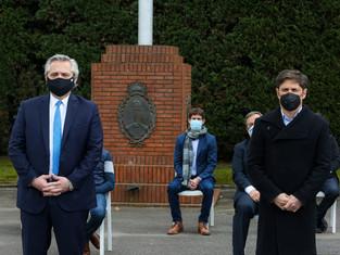 Juan Andreotti, invitado especialmente a la Quinta de Olivos, se mostró entusiasmado con el mega pla