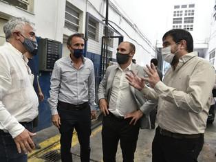 Martín Guzmán, Moreira y Katopodis visitaron Pymes de San Martín: pusieron oídos y proyectos