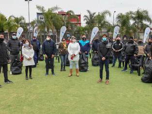 Andreotti entregó kit deportivo a la liga de fútbol infantil y femenina