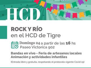 """Tigre """"Rock y Río""""; ¿qué mejor?"""