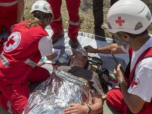 Día Mundial de la Cruz Roja, una vez más, con balance positivo y desalentando a negacionistas