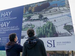 San Isidro avanza con la construcción del parque costero
