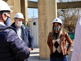 AySa continúa avanzando con obras enterradas por Cambiemos