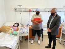 Nació Ciro, El Grande, el bebé 25 mil nacido en la Materno Infantil de Tigre