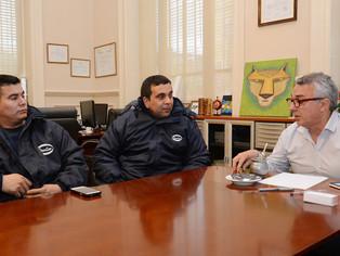 Leche hervida: Zamora ante la crisis de SANCOR se ubica junto a los trabajadores