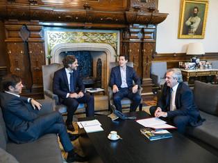 Fernández recibió a Kicillof: sigue la fumata blanca