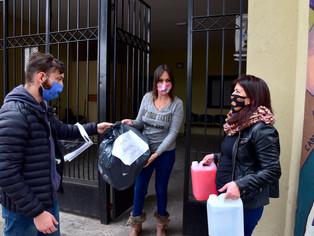 San Martín ratifica la acción estatal y privada