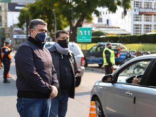 Vicente López lleva controlado más de 600 mil autos y 800 mil personas