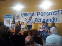 Guillermo Moreno hace pie en Vicente López, con Principios y Valores