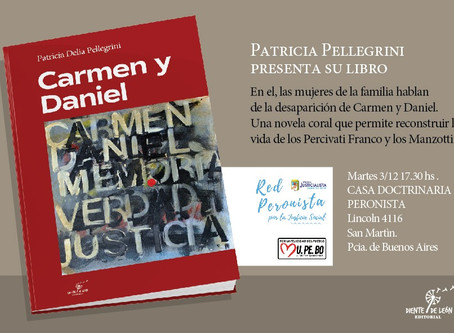 Carmen y Daniel, desaparecidos por la dictadura, presentes en San Martín
