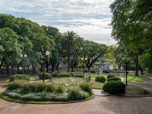La Plaza Mitre va tomando nuevo color al amparo de la remodelación