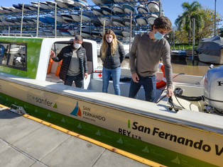 Otro orgullo para San Fernando: nueva lancha para asistir a vecinos del Delta