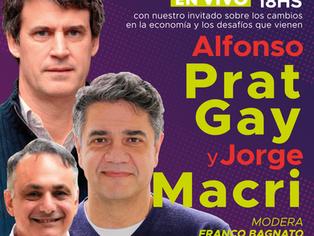 Alfonso Prat Gay da consejos y persuade a Jorge Macri: pedido de informe en puerta