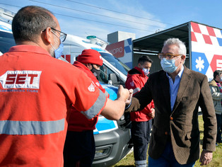 Tigre sumó nuevos equipos para el SET: 3 ambulancias y un minibús