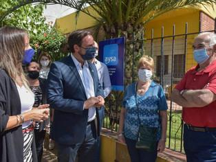 """AySA hace """"milagro"""": otras 15.000 personas conectadas a la red cloacal"""