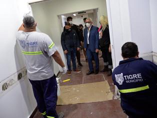 Hospital de Gral. Pacheco: obras en marcha