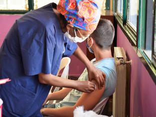 Tigre comenzó con el plan de vacunación contra el COVID-19