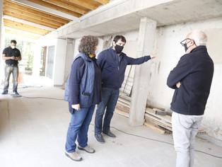 """Construyen el Hogar Municipal Evita  destinado a """"los únicos privilegiados"""""""