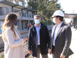 Galmarini y Marinucci subidos al tren de las obras públicas, aquella que Macri y Vidal abandonaron