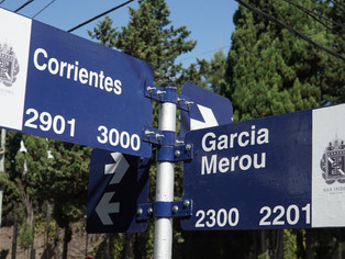 Martínez: cambian sentido de calle