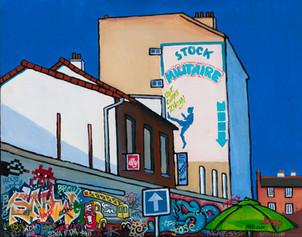 Graffiti Series. Jump.