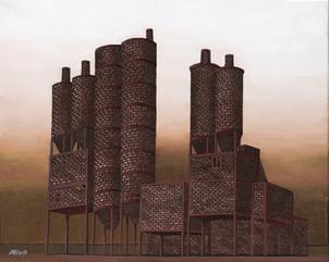 Distopolis. Park sculpture.