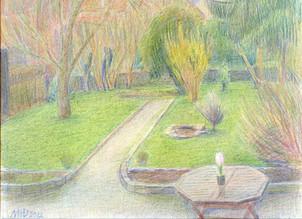 No. 4.  Evening garden.