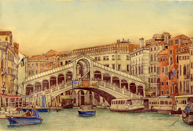 No. 6. Rialto Bridge.