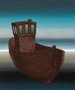 Distipolis. Boat.