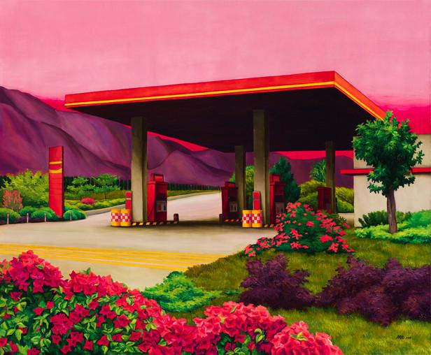 Paradise Gas Station.