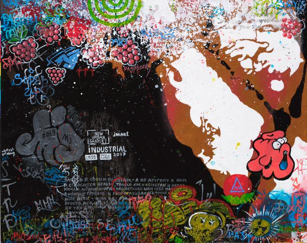 Graffiti Series. MJ.